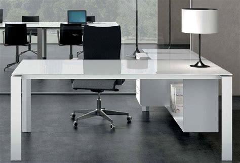 separation de bureau en verre bureau direction en verre blanc ou couleur mobilier de