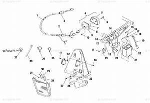 Polaris Atv 2001 Oem Parts Diagram For Electrical  Taillight
