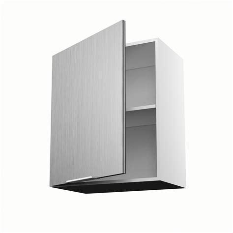 meuble cuisine hauteur 70 cm meuble de cuisine haut décor aluminium 1 porte stil h 70 x