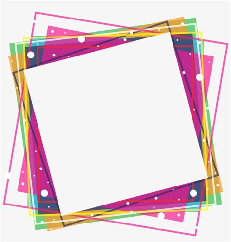 Cornici Png Colorful Frames Png Cornici Colorate In Png 1080x1080