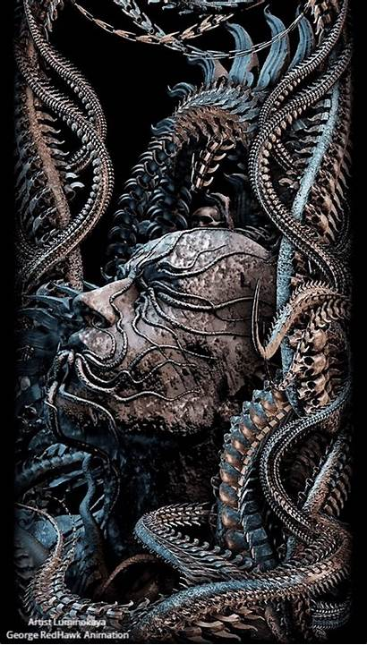 Fantasy Giger Dark Hr Arte Horror Gifs
