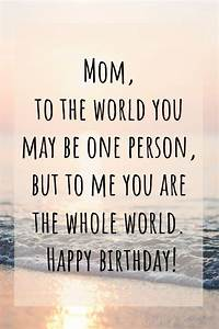 100, Best, Happy, Birthday, Mom, Wishes, Quotes, U0026, Messages