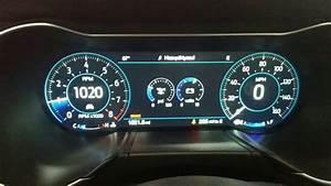 2018 Mustang Digital Dash Gauges - YouTube