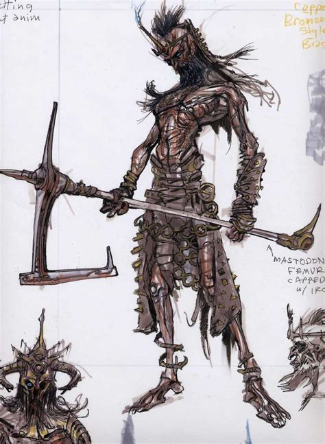 Draugr Concepts Concept Art From The Elder Scrolls V