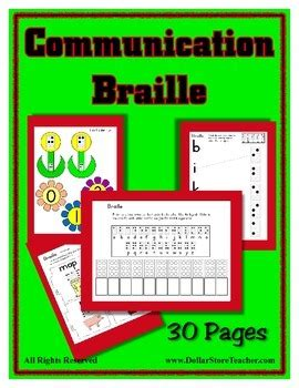 communication theme braille preschool to kindergarten 319 | original 1318857 1