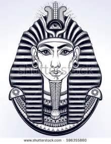 Egyptian Pharaoh Tattoos Drawings