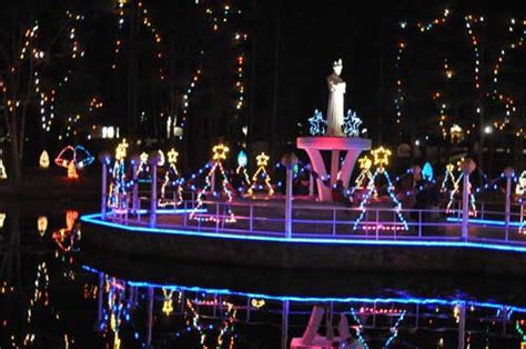 la salette christmas lights la salette christmas festival of lights shines nov 24