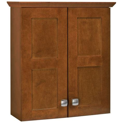 Glacier Bay Bathroom Storage Cabinet by Glacier Bay Artisan 19 1 4 In W X 21 7 10 In H X 7 In D