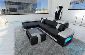 Sofa Dreams : eckcouch design bellagio l form sofa mit led beleuchtung ~ A.2002-acura-tl-radio.info Haus und Dekorationen