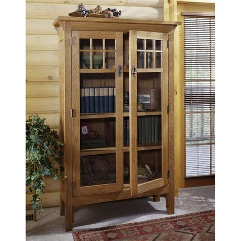 Arts And Crafts Bookcase Plans - arts and crafts bookcase woodworking plan from wood magazine