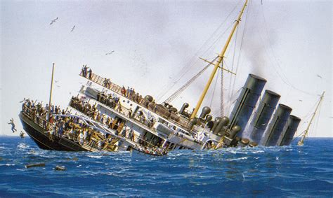 when did the lusitania sink rms lusitania going lusitania