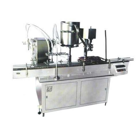 pharmaceutical machine automatic bottle filling  sealing machine manufacturer  ahmedabad