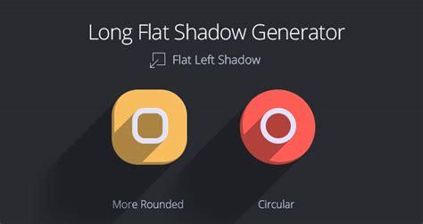 long flat shadow generator psd miscellaneous pixeden