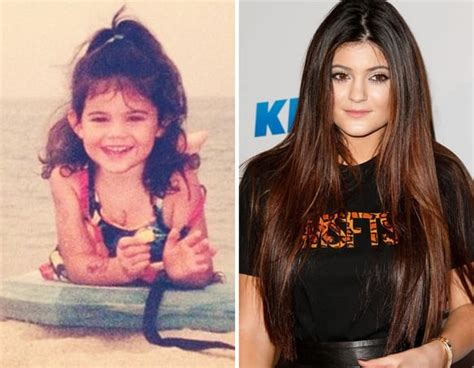 Kylie Jenner as a Kid - The Hollywood Gossip