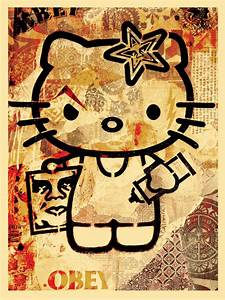 hello kitty, dope, obey - image #507052 on Favim.com