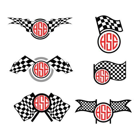 # png file svg file eps file cdr file. Race Checkered Flag Svg Cuttable Frames