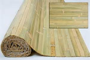 bamboo paneling raw green