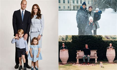 kate middleton s christmas card compared to other royals