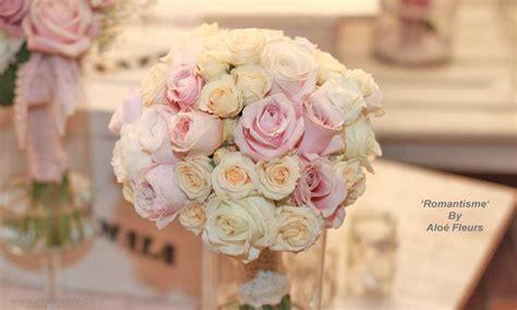 chambre romantique fille bouquet de fleurs romantiques