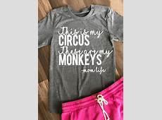 Circus & Monkeys TShirt Fairyseason
