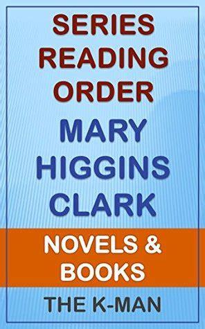 series list mary higgins clark  order novels