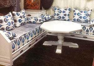 Acheter Salon Marocain : salon marocain moderne achat salon oriental contemporain gris pas cher ~ Melissatoandfro.com Idées de Décoration