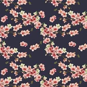 Designer Upholstery Curtain Vintage Floral Fabric Cherry ...