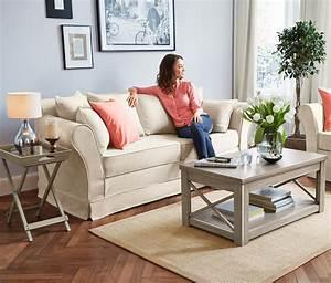 Tchibo Möbel Wohnzimmer : sofa cremefarben von tchibo inkl kissen nur 699 ~ Watch28wear.com Haus und Dekorationen