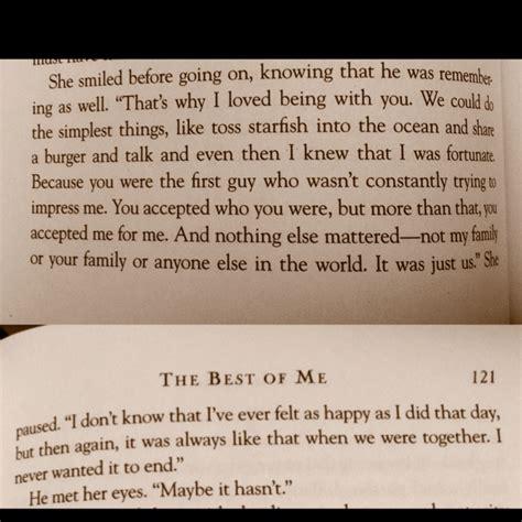 Nicholas Sparks Best Book Quot The Best Of Me Quot By Nicholas Sparks Quotes