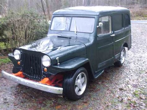 jeep willys wagon for sale 1952 willys jeep for sale classiccars com cc 760269