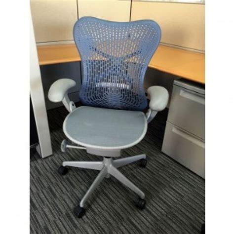 herman miller mirra blue grey chair executive chairs
