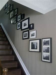 1000 images about stairway frames on pinterest With kitchen colors with white cabinets with photo frame puzzle piece wall art