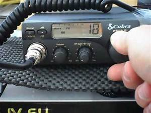 Cb Auto : cobra 19dx iv eu multi eu band cb radio youtube ~ Gottalentnigeria.com Avis de Voitures