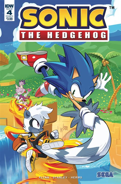 Sonic the Hedgehog #4   IDW Publishing