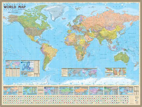 Карта мира на английском