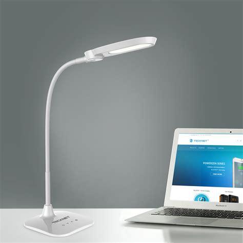 intek led desk l tecknet led06 10w eyecare led desk l with built in battery
