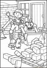 Coloring Builder Bob Bobthebuilder Printable Coloringpages101 Pdf sketch template