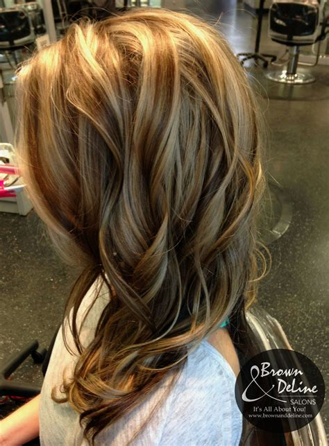 Darker Brown Hair by A Darker With Caramel Lowlights This