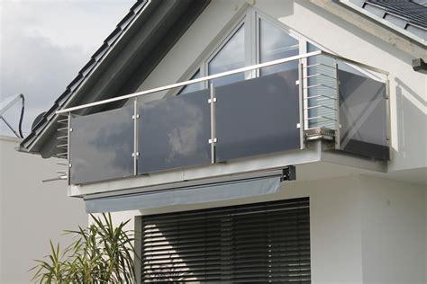 Balkone und Geländer aus Stahl und Edelstahl im Raum Ulm