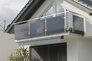 balkone und gelander aus stahl und edelstahl im raum ulm With balkon teppich mit glas tapete