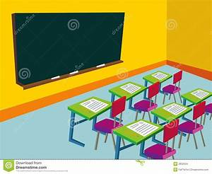 Empty Classroom Stock Images - Image: 2832934