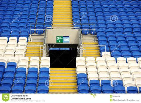 football stadium seating stock photo image of large