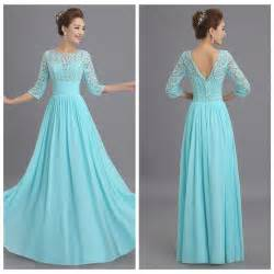 aqua blue bridesmaid dresses milan to wholesale 2015 new lace aqua blue 3 4 sleeve bridesmaid dresses