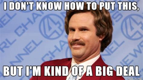 Ron Burgundy Meme - pics for gt will ferrell anchorman meme