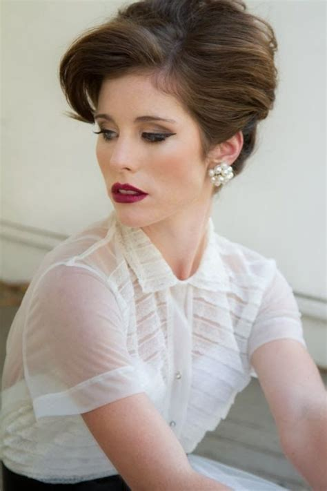 1950s Wedding Hairstyles by Hair And Make Up Ideas Makeup