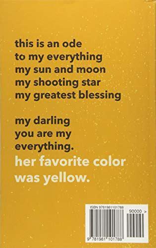 favorite color  yellow paperback november