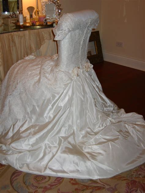 wedding dress chair cover romancing the home table