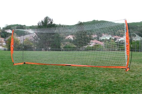 Sports Nets For Backyard by 8 X 24 Bownet Soccer Goal Portable Goals For Sports