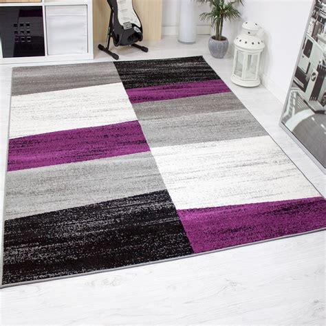 design salon tapis g 233 om 233 trique motif mouchet 233 mauve gris