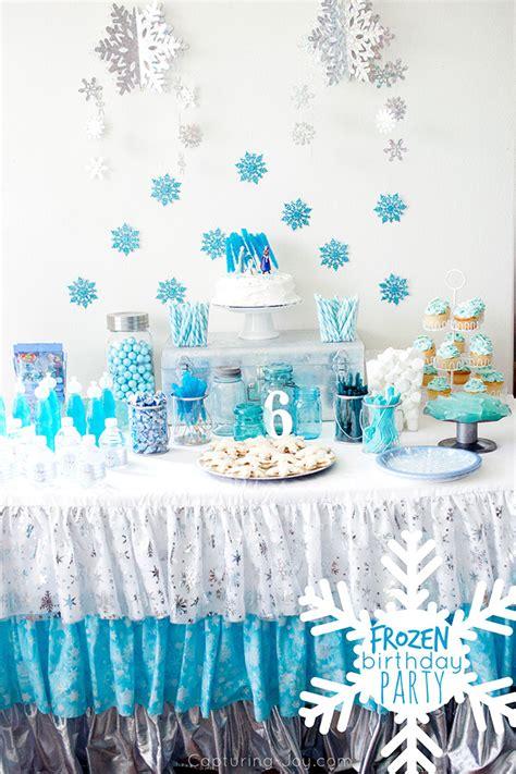 cumpleanos frozen decoracion ideas  mas